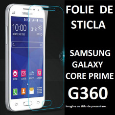 FOLIE STICLA Samsung G360 Core Prime 0.33mm tempered glass securizat PROTECTIE - Folie de protectie Samsung, Anti zgariere