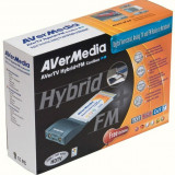 Tuner TV AVERMEDIA model: AVERTV HYBRID (telecomanda) PCMCIA