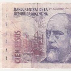Bnk bn Argentina 100 pesos (2003) circulata