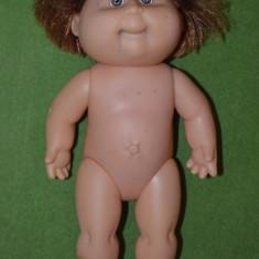 Papusa veche vintage Cabbage Patch Kids Hasbro semnat Xavier Roberts 35 cm