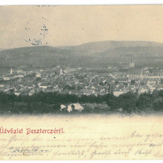 3340 - Litho, Bistrita Nasaud, BISTRITA - old postcard - used - 1900 - Carte Postala Transilvania pana la 1904, Circulata, Printata
