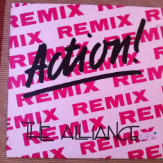 The Alliance ‎Action Remix disc vinyl 12