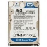 WD HDD2.5 250GB SATA WD2500BPVT