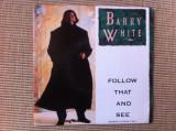 barry white follow that and see vinyl single disc editie vest muzica pop 1989