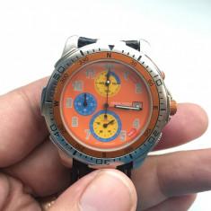 Ceas de mana Orient HS8743 chronograph Japan - Ceas barbatesc Orient, Sport, Quartz, Metal necunoscut