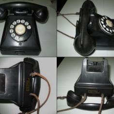 BELL Telephone-MFG Company-Anvers Belgique. Telefon vechi din bachelita.