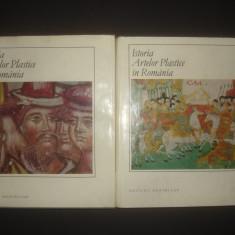 ISTORIA ARTELOR PLASTICE IN ROMANIA 2 volume - Carte Istoria artei