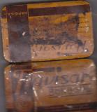 Bnk div - Cutie metalica veche pentru bomboane Flavisan - SAPIC SA