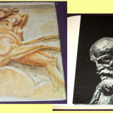 Bourdelle - Maestrii artei universale, album de arta, ilustratii, sculptura - Album Arta