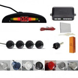 Senzori parcare set cu afisaj diplay LED  avertizare sonora kit 4 Parking sensor