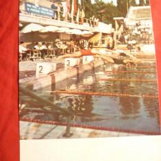 Ilustrata -Sport - Inot- Bazin Strandul Tineretului , anii '70