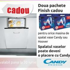 Masina spalat vase Candy CDI 5656 E10 S - Masina de spalat vase Candy, Incorporabil, 15 seturi