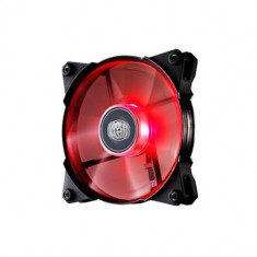 Ventilator carcasa COOLER MASTER. JetFlo 120x120x25 mm, w. 4 LED red, POM bearing (R4-JFDP-20PR-R1)
