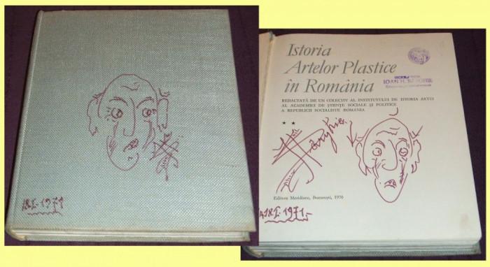 Istoria artelor plastice in Romania sec XVII-XIX, album de arta, ilustratii
