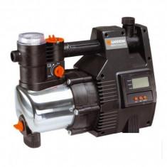 Pompa electronica de presiune din inox Gardena - Premium 6000/5 cu LCD - Pompa gradina