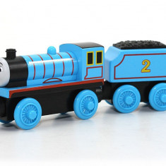 Locomotiva Edward, colectia Thomas si prietenii sai, Fisher Price - Trenulet Fisher Price, 4-6 ani, Lemn, Unisex