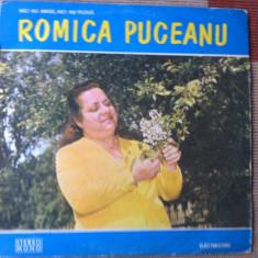 Romica Puceanu Nici nu ninge nici nu ploua lp vinyl Muzica Lautareasca electrecord populara, VINIL