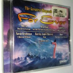 The Greatest Rhapsodies in Rock For Ever( 1CD ) - compilatie rock - Muzica Rock