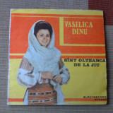 VASILICA DINU SANT OLTEANCA DE LA JIU VINYL LP DISC MUZICA POPULARA folclor