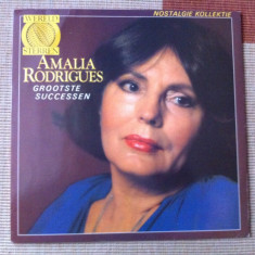 Amalia Rodrigues Grootste Successen disc vinyl lp muzica fado world music emi - Muzica Latino, VINIL