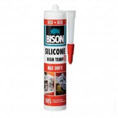 Silicon rosu rezistent la temperatura Bison - 60 ml