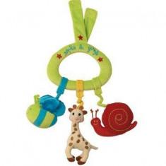 Jucarie muzicala triunghi Girafa Sophie - Jucarie interactiva Vulli