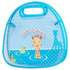 Suport de baie pentru jucarii Girafa Sophie - Jucarie interactiva Vulli