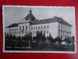 Vedere - Carte postala - Orastie - Liceul Aurel Vlaicu, Necirculata, Fotografie