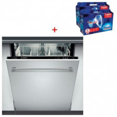Masina de spalat vase Bosch - SGV 33E23EU + Set Finish, Incorporabil, 12 seturi, 60 cm, Numar programe: 3, A