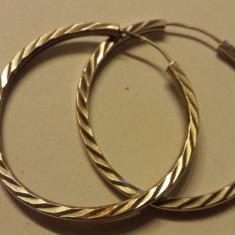 Finuti Cercei Argint model Clasic Rotunzi vintage executati manual