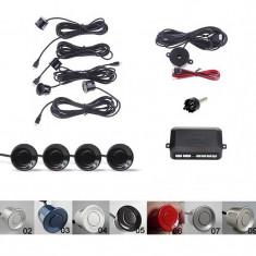 Senzori de parcare spate set avertizare sonora cu buzzer Kit 4 Parking Sensor