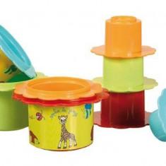 Vulli- Set valiza cu jucarii de activitati Girafa Sophie - Jucarie interactiva