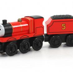 Locomotiva James, colectia Thomas si prietenii sai, Fisher Price - Trenulet