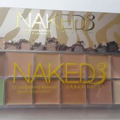 Paleta corectoare profesionala 12 culori NAKED 3 Urban Decay