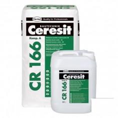 Pasta hidroizolatoare flexibila bicomponenta Ceresit CR 166 - 32 kg - Hidroizolatie