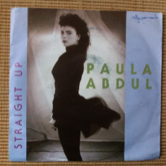 Paula abdul straight up cold heart disc vinyl single muzica pop editie vest, VINIL