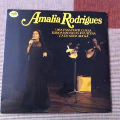 Amalia Rodrigues UNA CASA PORTUGUESA vinyl disc lp muzica fado world music mfp - Muzica Latino, VINIL