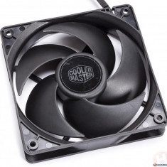 FAN FOR CASE COOLER MASTER Silencio FP120 PWM 120x120x25 mm, 14 dBA (max.), LD bearing (R4-SFNL-14PK-R1)
