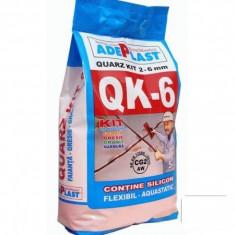 Chit pentru placi ceramice si aquastatice caramiziu inchis Quarz Kit 6 - 5 kg