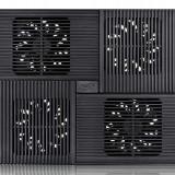 Stand notebook DeepCool 17 - 4* fan 100mm, 2* USB, plastic & aluminiu, black, 4* setari (MULTI CORE X8)