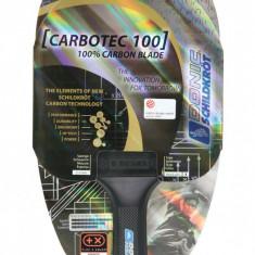 Paleta tenis de masa Attack+ CarboTec Line 100 anatomica - Ping pong