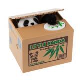 Pusculita automata Panda fura bani urs hot simpatica monezi economiseste +CADOU!