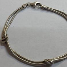 Veche Bratara argint executata manual Clasica Eleganta Finuta si de Efect