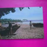 HOPCT 20968 INDIA GOA - PLAJA SIRIDAO /PESCARI DE SCOICI [NECIRCULATA], Printata