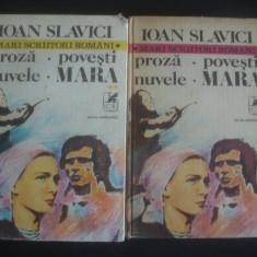IOAN SLAVICI - PROZA POVESTI NUVELE MARA - Nuvela