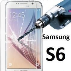 FOLIE STICLA Samsung Galaxy S6 0.33mm, 2.5D tempered glass securizata PROTECTIE - Folie de protectie Samsung, Anti zgariere