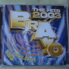 BRAVO THE HITS 2003 - 2 C D Original - Muzica Dance sony music