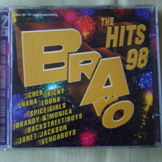 BRAVO THE HITS 1998 - 2 C D Original - Muzica Dance sony music