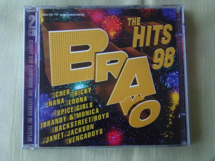 BRAVO HITS 1998 - 2 C D Original