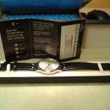 Ceas barbatesc clasic TW STEEL TW1301 45 mm, otel, geam safir, curea piele - NOU